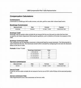 sample commission plan template 8 free documents in pdf With sales commission policy template