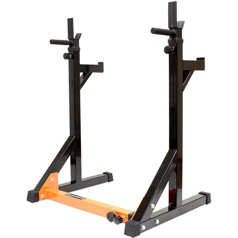 mirafit fully adjustable squat dip rack gym weight
