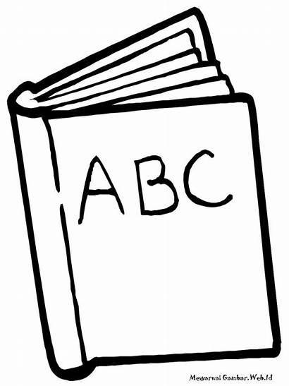Gambar Alat Tulis Mewarnai Sketsa Untuk Simple