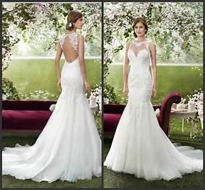 glamorous mermaid garden wedding dresses 2016 fara sposa With garden wedding bridesmaid dresses