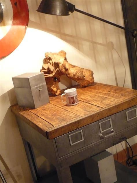 etabli cuisine etabli ancien îlot cuisine meuble de métier industriel salle de séjour le havre par