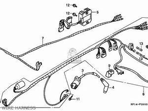 honda trx200 fourtrax 1994 r usa parts list partsmanual With honda trx200 fourtrax 200 1984 usa wire harness battery schematic