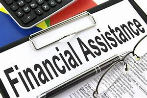 Financial Assistance - Clipboard image Financial Assistance