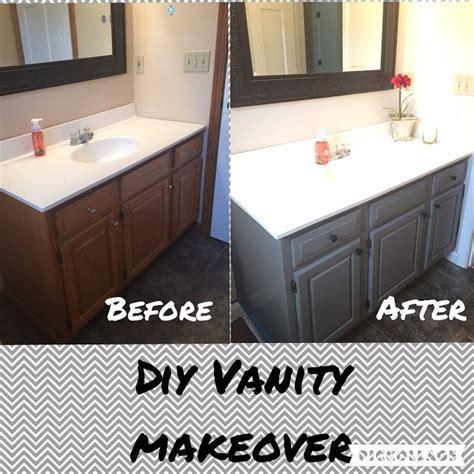 Guest Vanity, benjamin moore chelsea gray, painting vanity