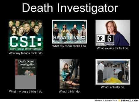 Investigator Meme - death investigator security guards companies