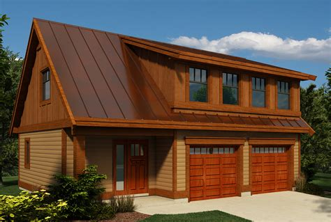Carriage House Plan With Shed Dormer 9824SW Canadian