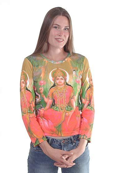 lakshmi shirt hindu goddess  wealth  buddha garden