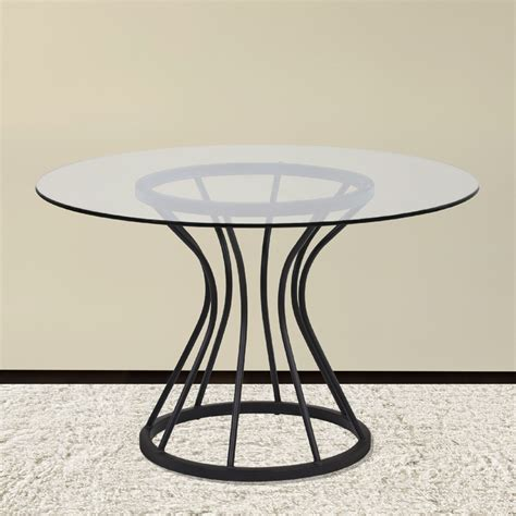 table ls walmart zurich black 48 quot glass dining table lczuditoclgl