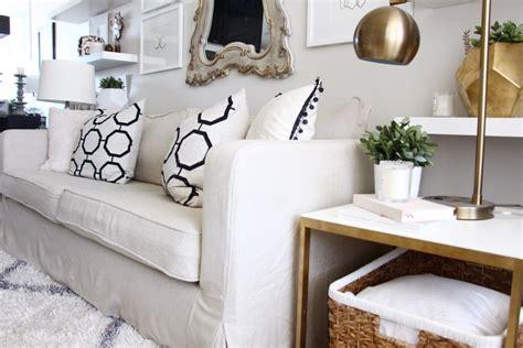 Beautify Your Ikea  Ee  Sofa Ee   With Custom Long Skirt Slipcovers