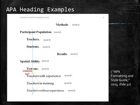 formatting header basics