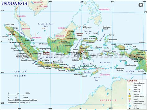 indonesia map map  indonesia information