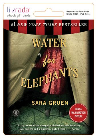 water  elephants book quotes quotesgram