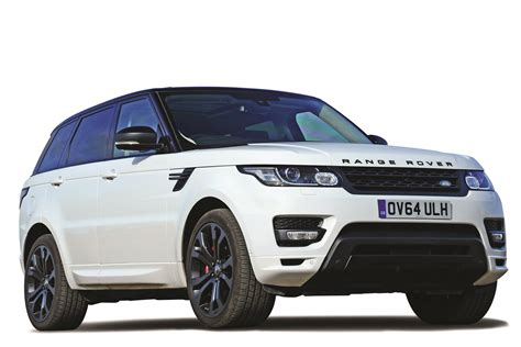 car range range rover sport suv mpg co2 insurance groups carbuyer