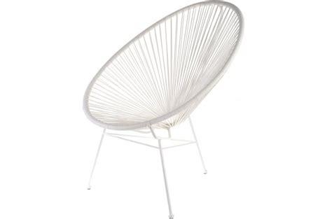 chaise acapulco pas cher fauteuil la chaise longue blanc acapulco fauteuil et chaise de jardin pas cher