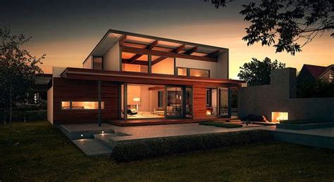 Green Home Design by Green Home Design From Lindal