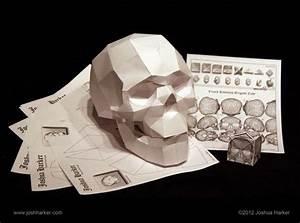 Origami  U0026 Papercraft Skull Puzzles