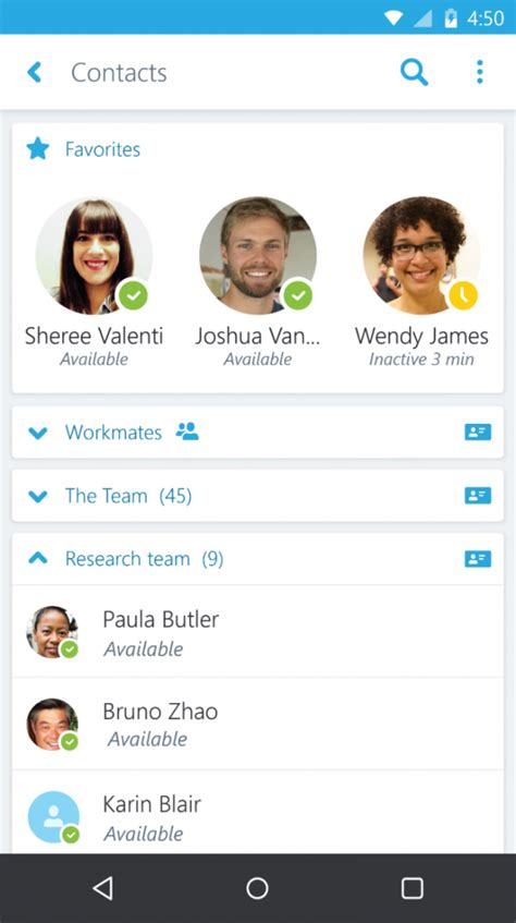 skype app for android skype for business for android now available nokipedia