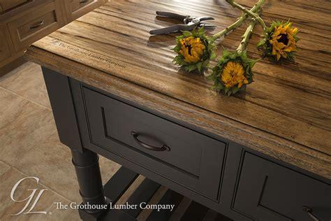 Grothouse Custom Saxon Wood? Island Countertop