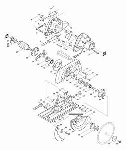 Spares for makita 5900br circular saw spare 5900br from for Circular saw diagram