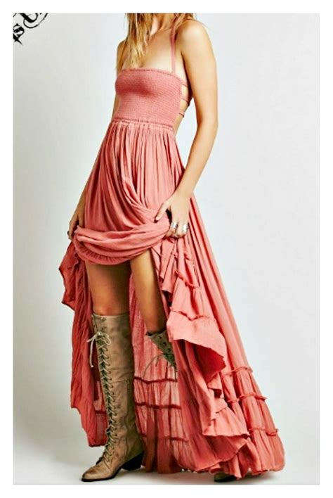 wildflower dress coral smocked front open strappy tiered