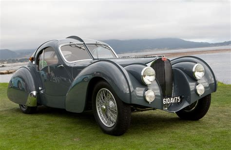 Type 57s were built from 1934 through 1940, with a total of 710 examples produced. Bugatti Type 57SC Atlantic - Investing Magazine in 2020   Bugatti type 57, Bugatti, First bugatti