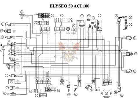 Yamaha Vino 50 Wiring Diagram by Peugeot Scooter Ewd Motorcycle Manuals Pdf