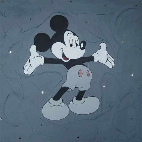 chambre bebe mickey tableau mickey gris with chambre bebe mickey
