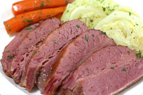 corned beef and cabbage corned beef with cabbage recipe dishmaps