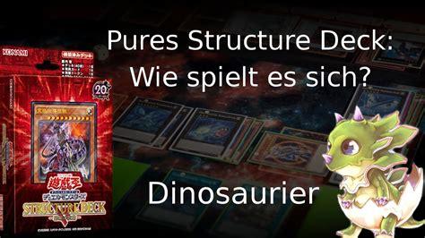 Dinosaurier Structure Deck Wie Spielt Es Sich? Tyranno