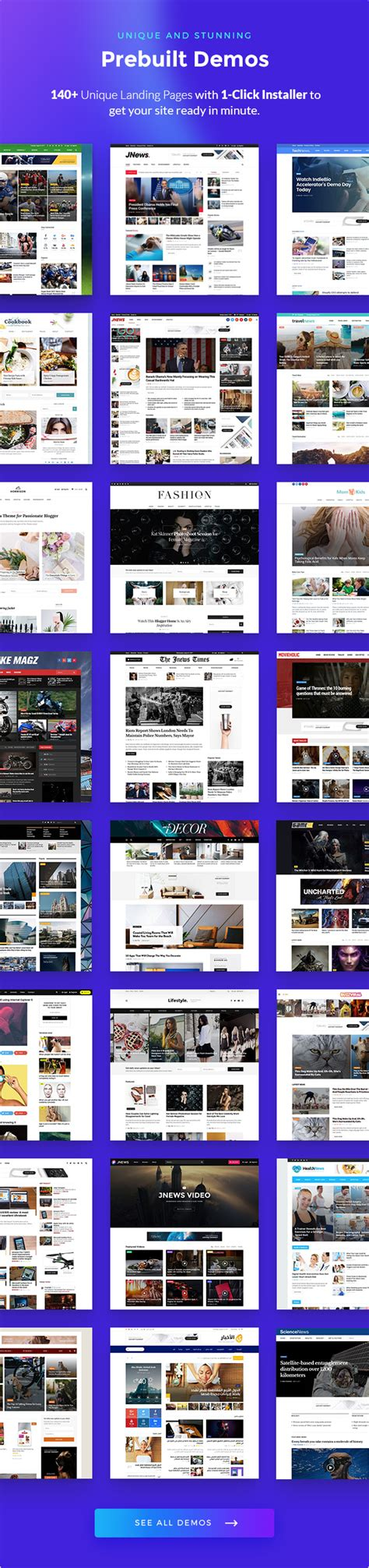 jnews  professional wordpress news theme  quickstart