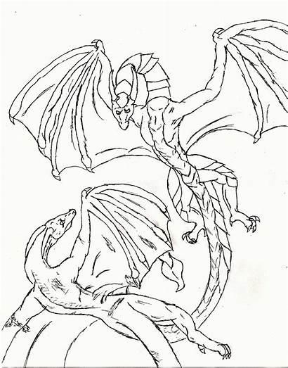 Coloring Dragon Teenagers Printable Popular
