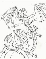 Coloring Dragon Teenagers Printable Popular sketch template