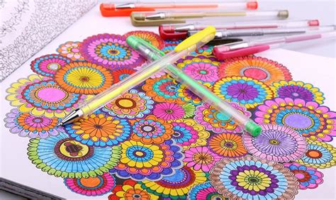 gel pens  coloring comprehensive reviews max nash