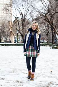 Cute Outfit with Winter Snow Boots