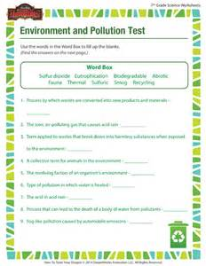 7th Grade Science Printable Worksheets