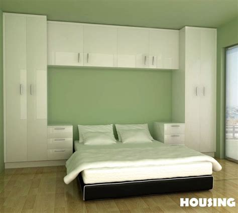 Bedroom Cabinet Design Images by Built In Bedroom Wardrobe Cabinets Around Bed