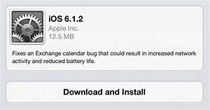 ios 612 released with exchange fix obama pacman With ios 6 1 2 will fix exchange lockscreen issues