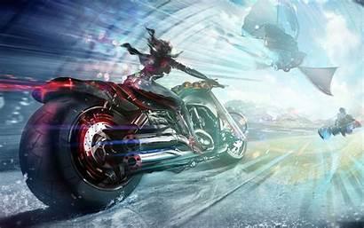 Wallpapers 3d Bike Gaming Bikes Desktop Fantasy