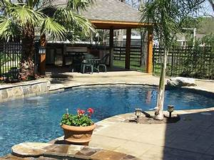 pool and outdoor kitchen designs kitchen decor design ideas With backyard designs with pool and outdoor kitchen