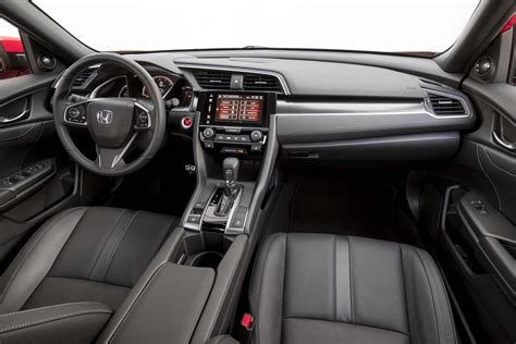 hatchback cars interior 2017 honda civic reviews and rating motor trend
