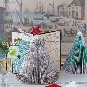 Sapin En Papier Plié : fabriquer des sapins en papier pli marie claire ~ Melissatoandfro.com Idées de Décoration