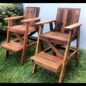 woodworking plans lifeguard chair woodproject