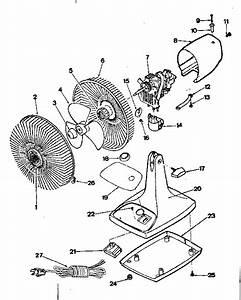 Kenmore Sears 9 U0026quot  Oscillating Fan Parts