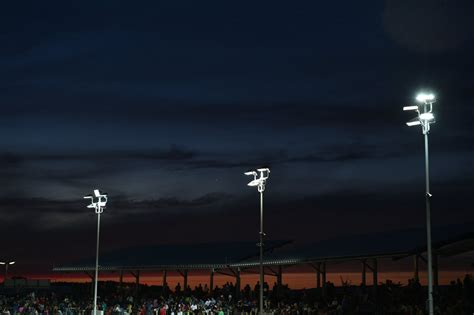 New Led Sports Light For Speedway In Landshut, Germany