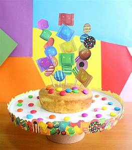 Candy Crush Cake Stand & Topper The Craftables