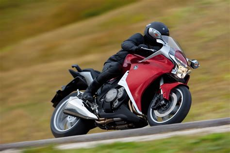 honda vfrf picture  motorcycle review