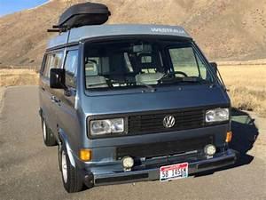 Volkswagen Bus  Vanagon Van Camper 1987 Blue For Sale
