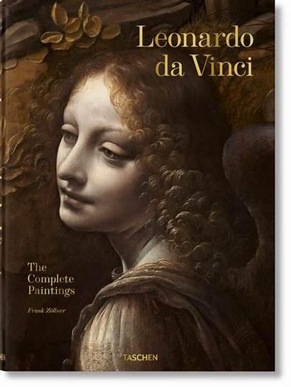 Vinci Leonardo Da Taschen Paintings Books Complete