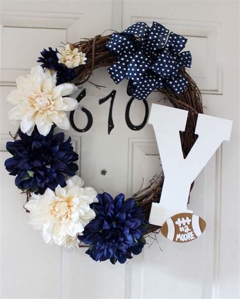 byu colors byu football wreath colors with the y