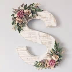 httpswwwetsycomcalistingwildflower ornate wooden letter floral nurserydecor